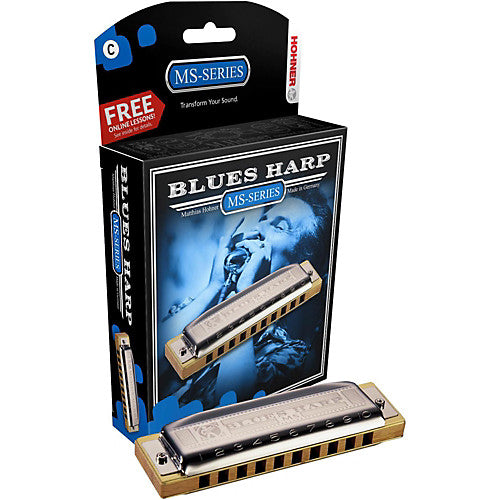 Hohner MS Series Blues Harmonica (C)
