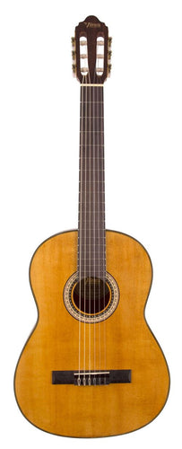 Valencia 3/4 Size Nylon String Guitar - Left Handed Natural Finish