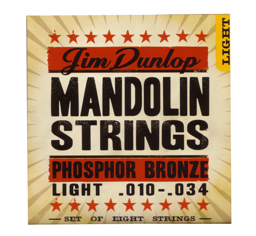 Dunlop Light Phosphor Bronze Mandolin Strings