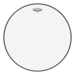 "Remo Emperor Clear 24"" Bass Drum Head"