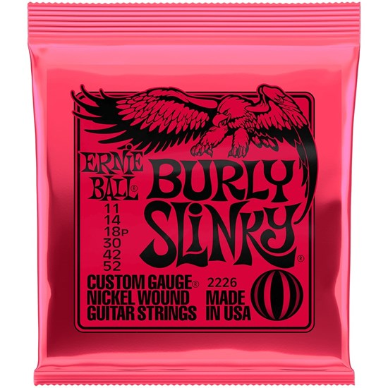 Ernie Ball Burly Slinky Electric Guitar Strings