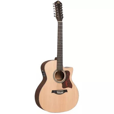 Giman 12 String Electric/Acoustic Guitar