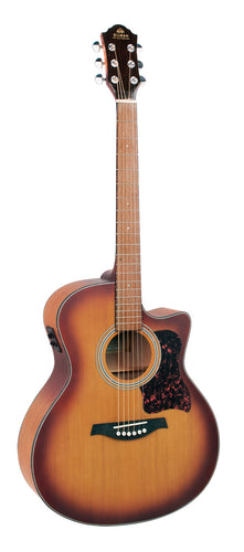 Gilman Grand Auditorium Electric/Acoustic Cedar Top Acoustic Guitar