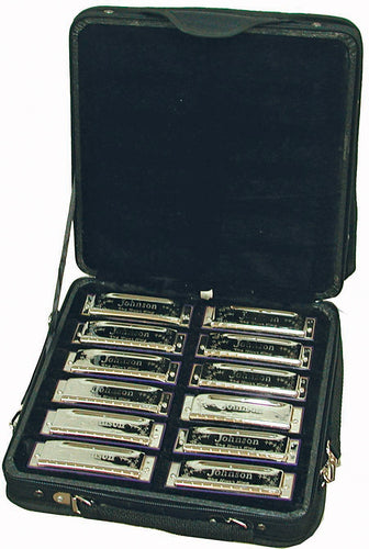 Johnson 'Blues King' Harmonica Set