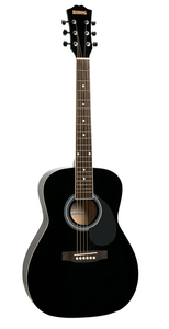 Redding 3/4 Dreadnought Acoustic Guitar - Black