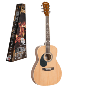 Redding 3/4 Dreadnought Acoustic Guitar - Left Handed
