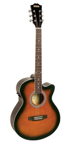 Redding Grand Concert Cutaway Electric/Acoustic Guitar