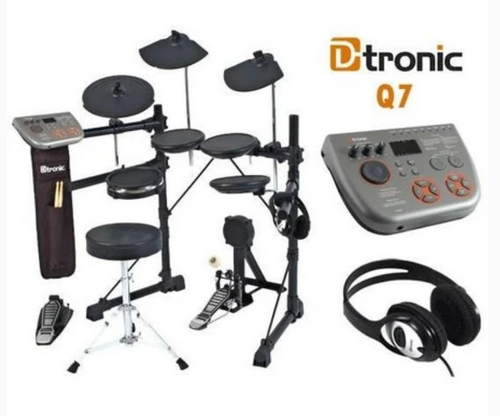 D-Tronic Q7 Electronic Drum Kit Package