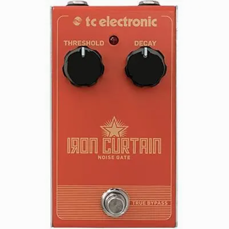 TC Electronic Iron Curtain Noise Gate Guitar Pedal