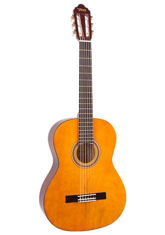Valencia 3/4 Size Nylon String Guitar - Natural Gloss