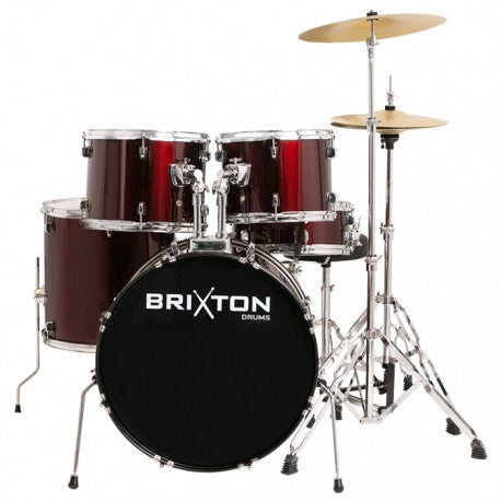 Brixton 5 Piece Drum Kit Package