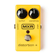MXR Distortion + Pedal