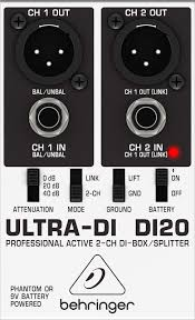 Behringer 2 Channel Active D.I