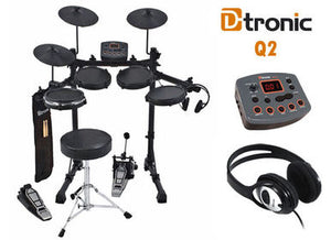 D-Tronic Complete Electronic Drum Kit Package