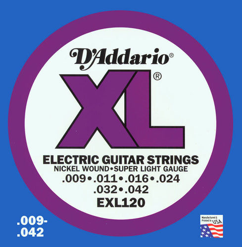 D'Addario NW Super Light Guitar Strings
