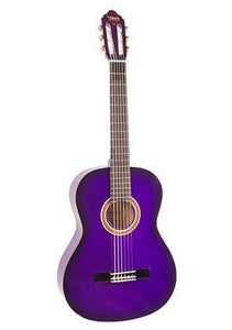Valencia 3/4 Size Nylon String Guitar - Purple Sunburst