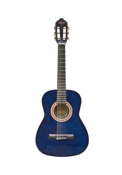 Valencia 1/2 Size Nylon String Guitar - Blue Sunburst
