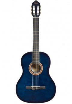 Valencia Full Size Nylon String Guitar - Blue Sunburst