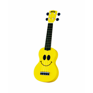 Mahalo Smiley Art Series Ukulele