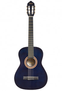 Valencia 3/4 Size Nylon String Guitar - Blue Sunburst