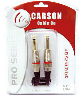 Carson Pro Series Speaker Cable