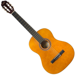 Valencia Full Size Nylon String Guitar - Left Handed Natural Finish