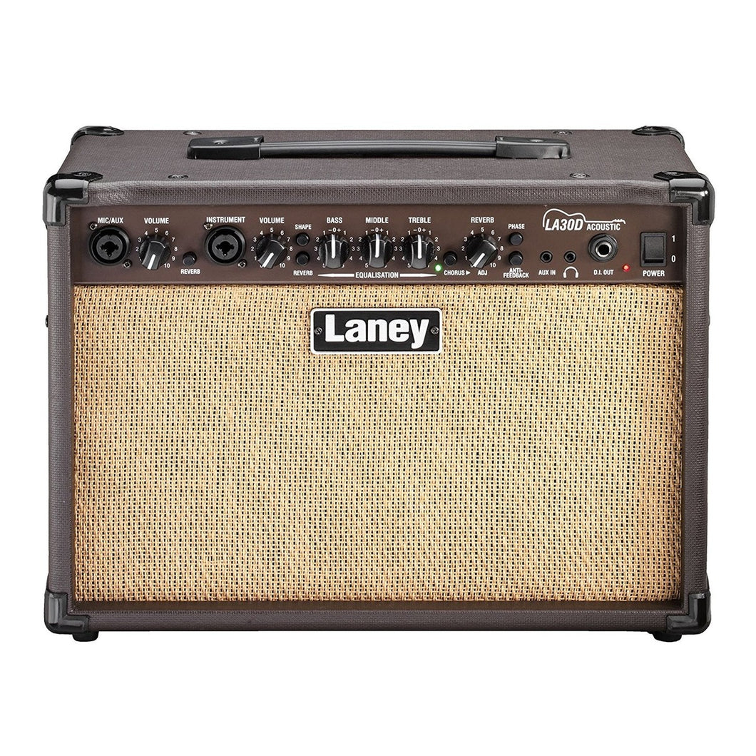 Laney 2-Channel Acoustic Guitar Amplifier 30 Watt