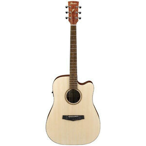 Ibanez Dreadnought Open Pore Electric/Acoustic Guitar
