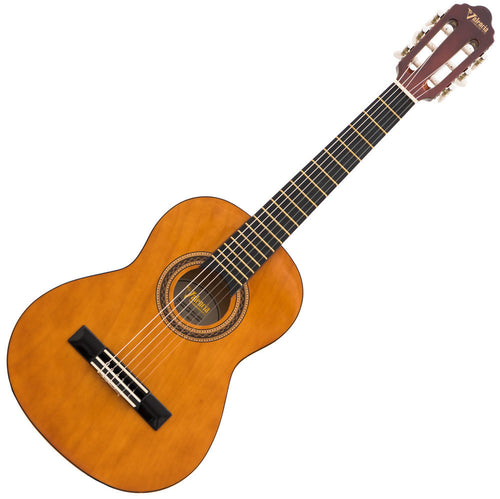 Valencia 1/2 Size Nylon String Guitar - Natural Gloss