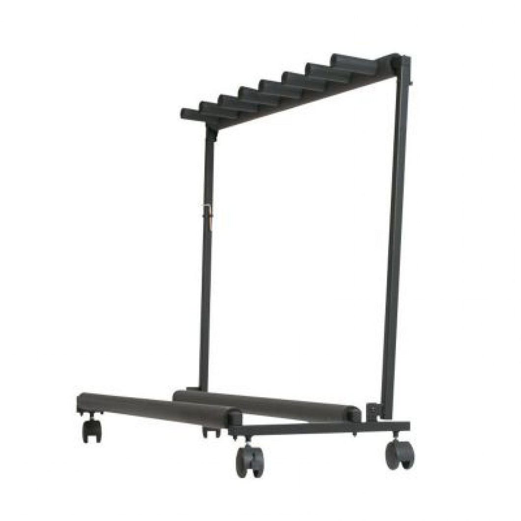 Xtreme 7 Guitar Rack on Wheels