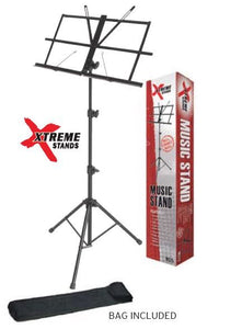 Xtreme Music Stand - Folding Style with Bag