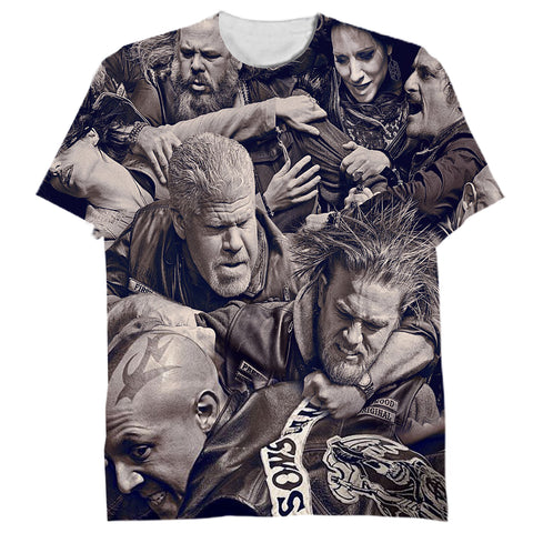 Sons Of Anarchy Over Frintful Tshirt 3D - Let Buy Now