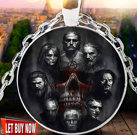 SONS OF ANARCHY NECKLACE  Circle Necklace