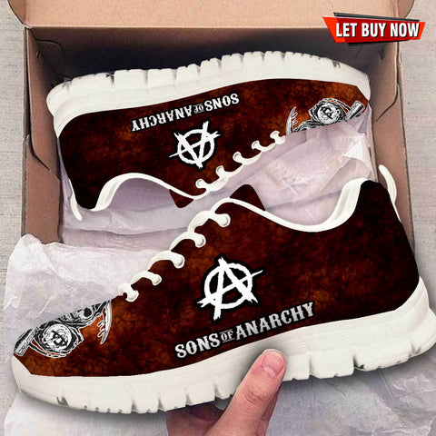 Sons Of Anarchy Sneaker - Discount 60% For CHRISTMAS - Limited Edition
