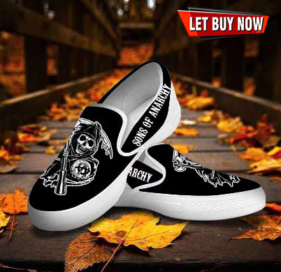 Sons Of Anarchy Slip On - Discount For Christmas Day - Perfect Gift For Christmas - Limited Edition