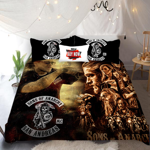 Sons Of Anarchy FREE SHIPPING Bedding Sets
