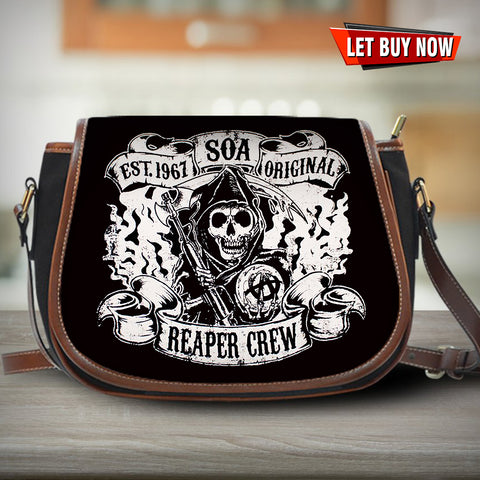 Sons Of Anarchy Saddle Bag - Discount 60% For CHRISTMAS - Limited Edition