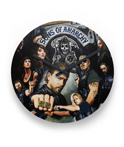 "Sons Of Anarchy Clock  11"" Round Wall Clock"