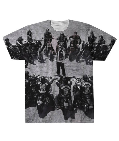 Sons Of Anarchy Team 3D Tshirt - Let Buy Now