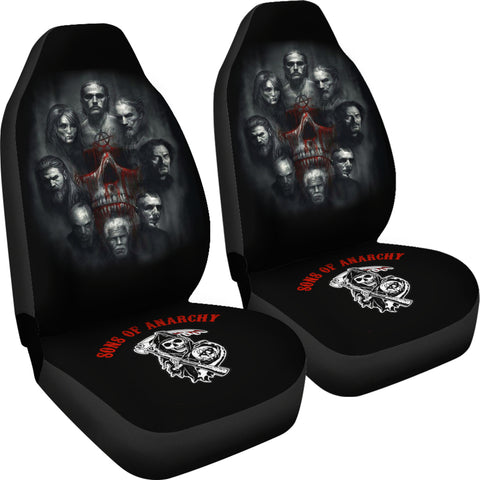 SOA Zombie Car Seat Covers