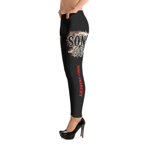 Sons Of Anarchy Legging - Special Discount 60% For Holiday
