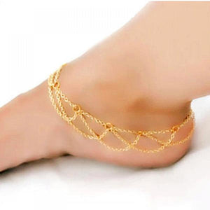 Gold Plated Anklets