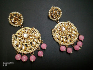 Bollywood Inspired Chandbali Earrings