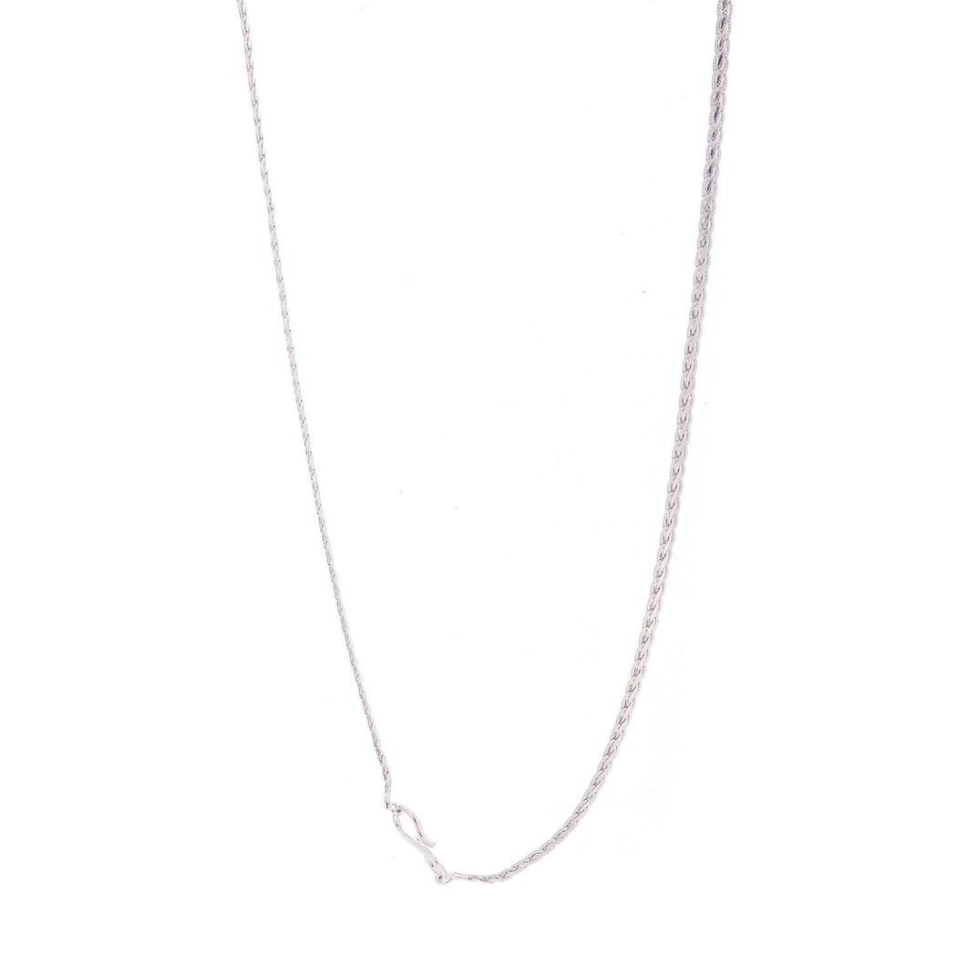 18 Carat White Gold Plated Women Chain