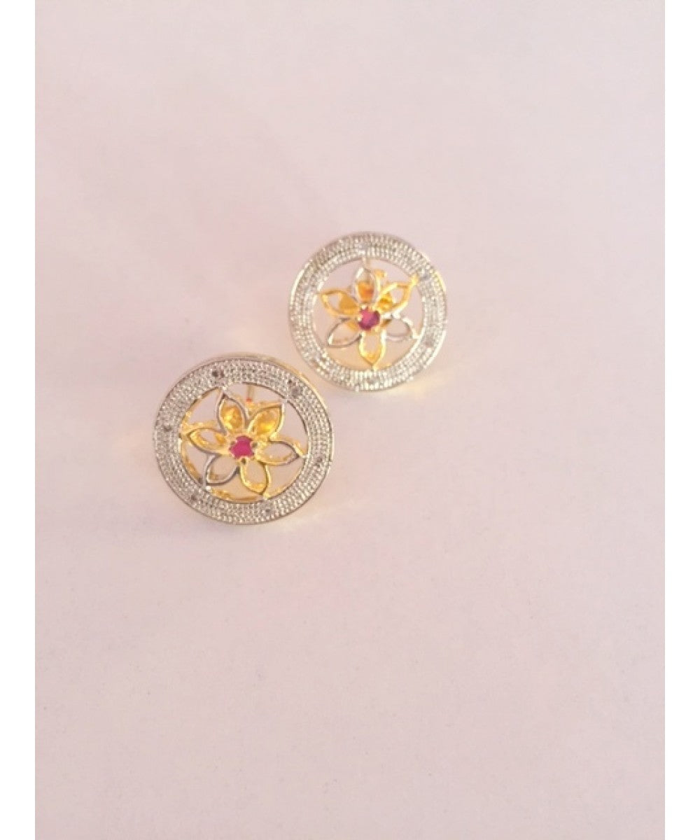 Colorful Earrings Stud Pair