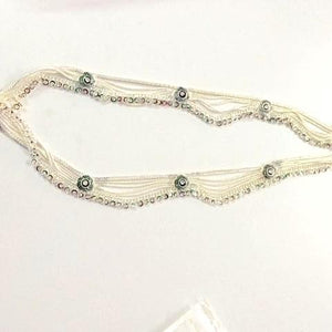 Silver Look Anklets