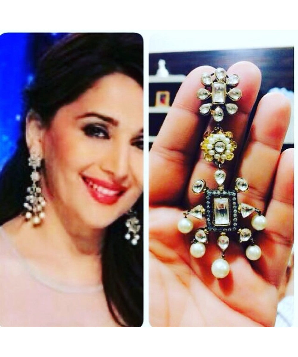 Bollywood Celebrity Designer Earrings Pair