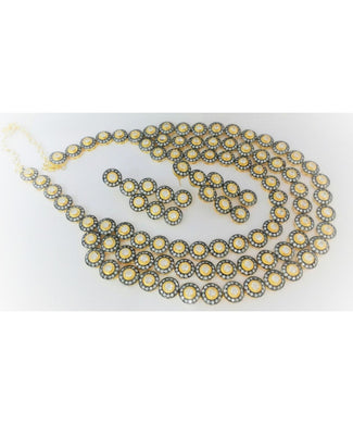 Victorian Necklace With Matching Earrings