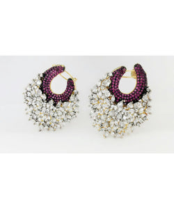 Colorful Earrings Pair
