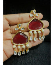 Trendy Colorful Earrings Pair With More Color Options